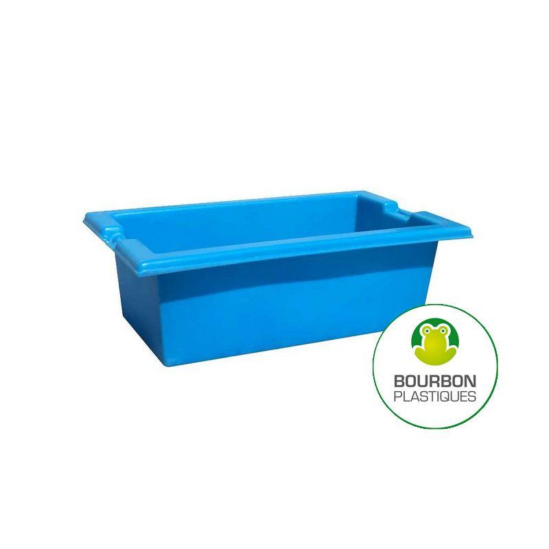 Bacs bassins bourbon plastiques rotomoulage for Bac transport poisson